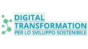 Logo Digital Transformation per lo Sviluppo Sostenibile