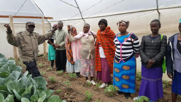 """Progetto RAS """"Consolidamento e ampliamento dell'Intervento di lotta all'Aids e promozione della sicurezza alimentare e dell'agricoltura sostenibile nella città di Nanyuki, Contea di Laikipia, Kenya""""."""
